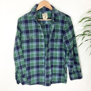 Vintage PLaid Flannel- size small